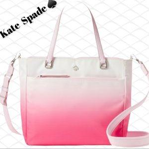 Kate Spade Medium Satchel NWT Ombré Pink